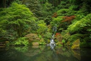 Photo free Japanese Garden, Portland, Oregon