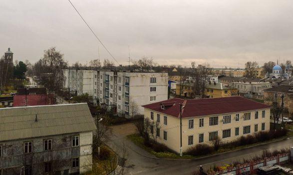 Заставки Приозерск, дома, улица