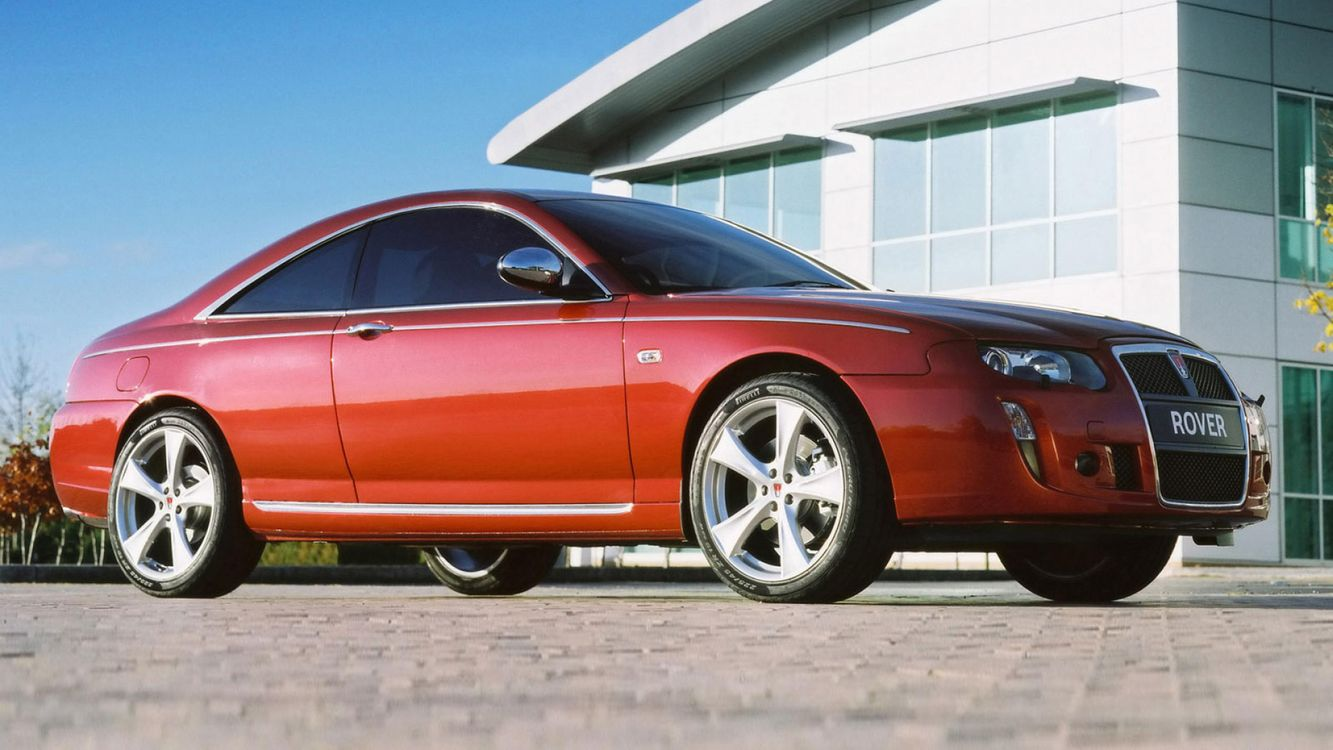 Photos for free MG ZT, купе, Rover - to the desktop