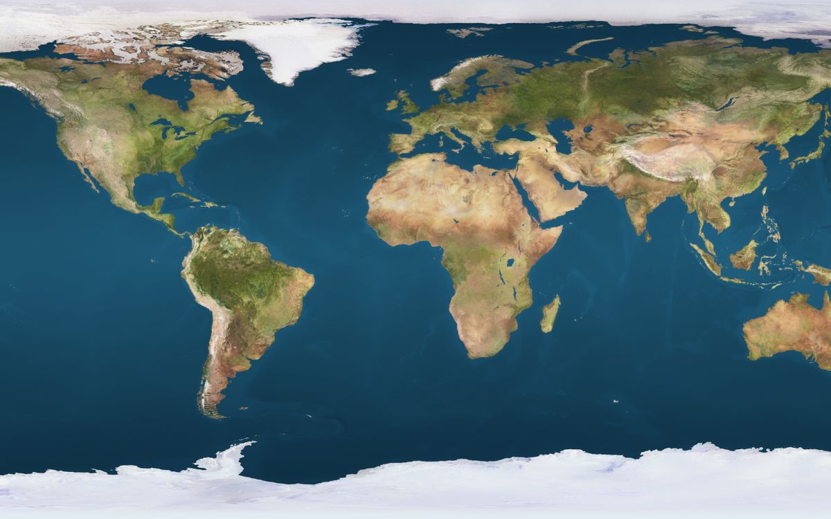 Photos for free map, land, continents - to the desktop