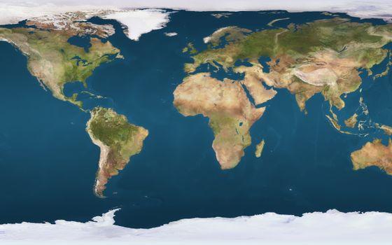 Фото бесплатно карта, земля, континенты