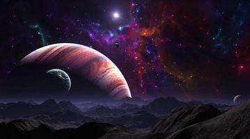 Фото бесплатно планеты, галактики, созвездия