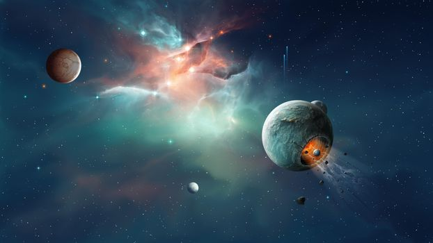 Фото на телефон космос, планеты