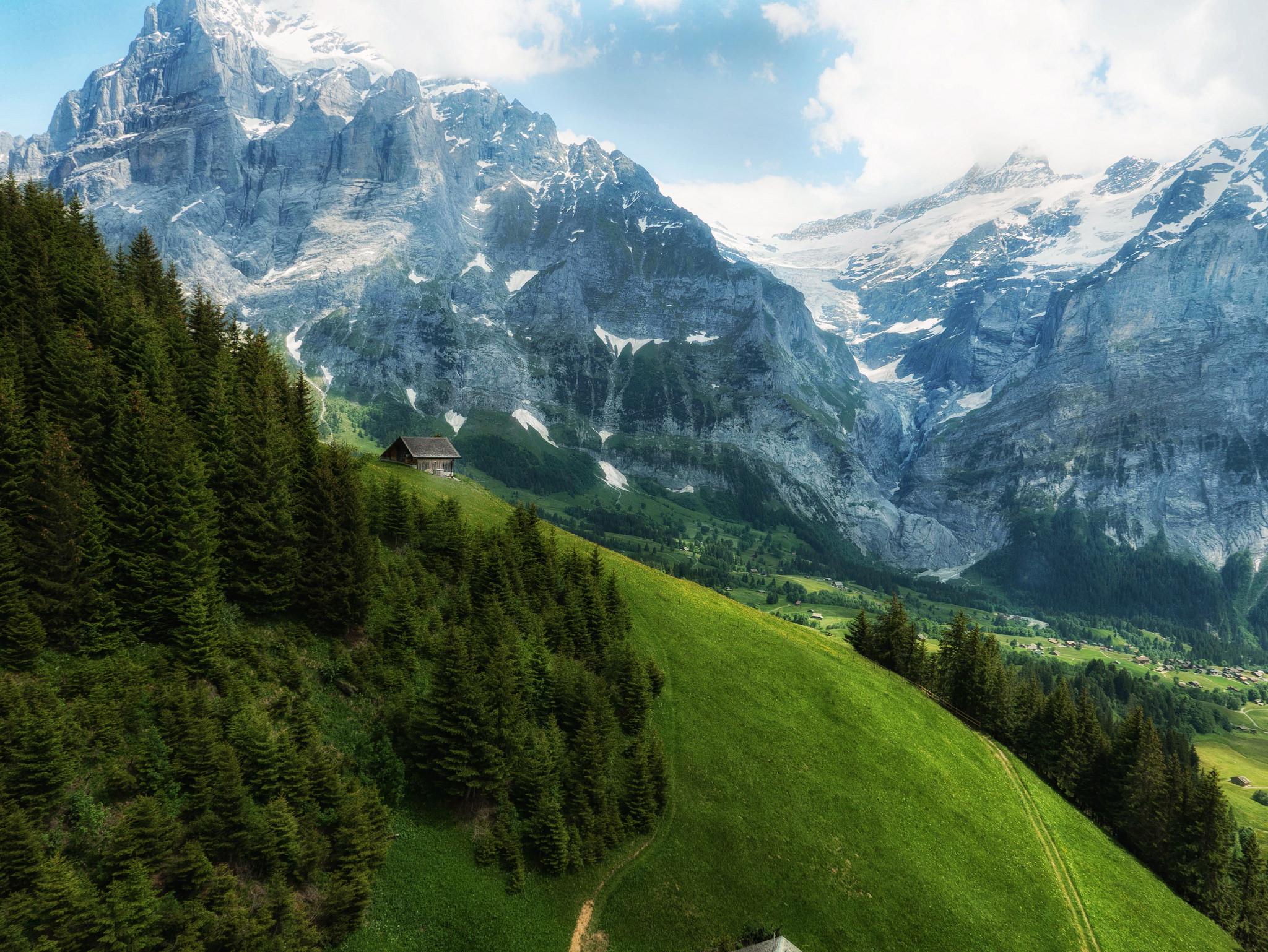 Гриндельвальд, Швейцария, горы