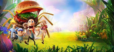 Фото бесплатно Облачно 2 Месть ГМО, Cloudy with a Chance of Meatballs 2, мультфильм, фэнтези, комедия, семейный