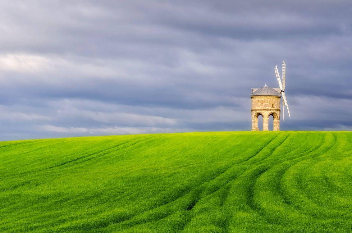 Фото бесплатно Честертон ветряная мельница, Уорикшир, Великобритания - на рабочий стол