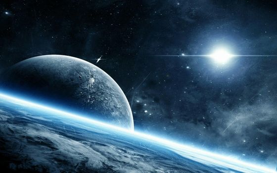 Download space planet wallpaper to your phone for free