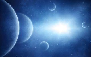 Бесплатные фото космос,планеты,солнце,звезды,свечение,невесомость,вакуум
