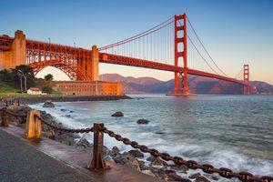 Заставки Мост Золотые ворота в Сан-Франциско, Golden Gate Bridge, San Francisco