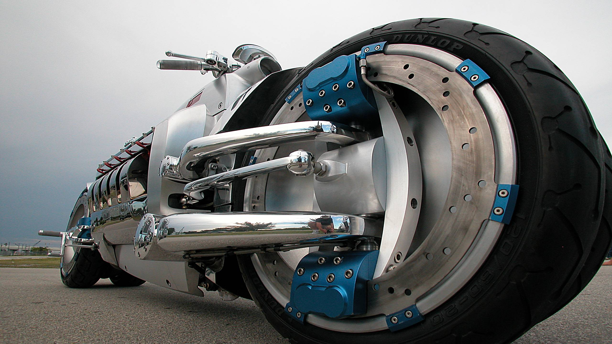 Обои мотоцикл, концепт, колеса, диски