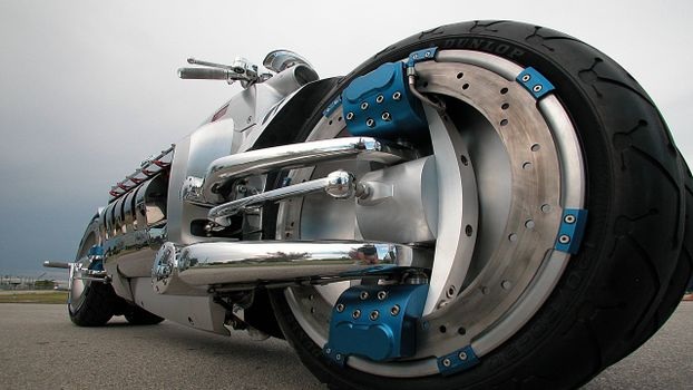 Photo free motorcycle, concept, wheels