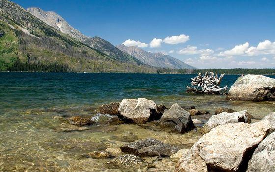 Фото бесплатно дно, горы, камни
