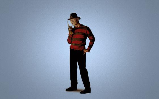 Photo free Freddy Kruger, maniac, hat