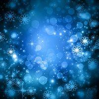 Снежинки и свечение
