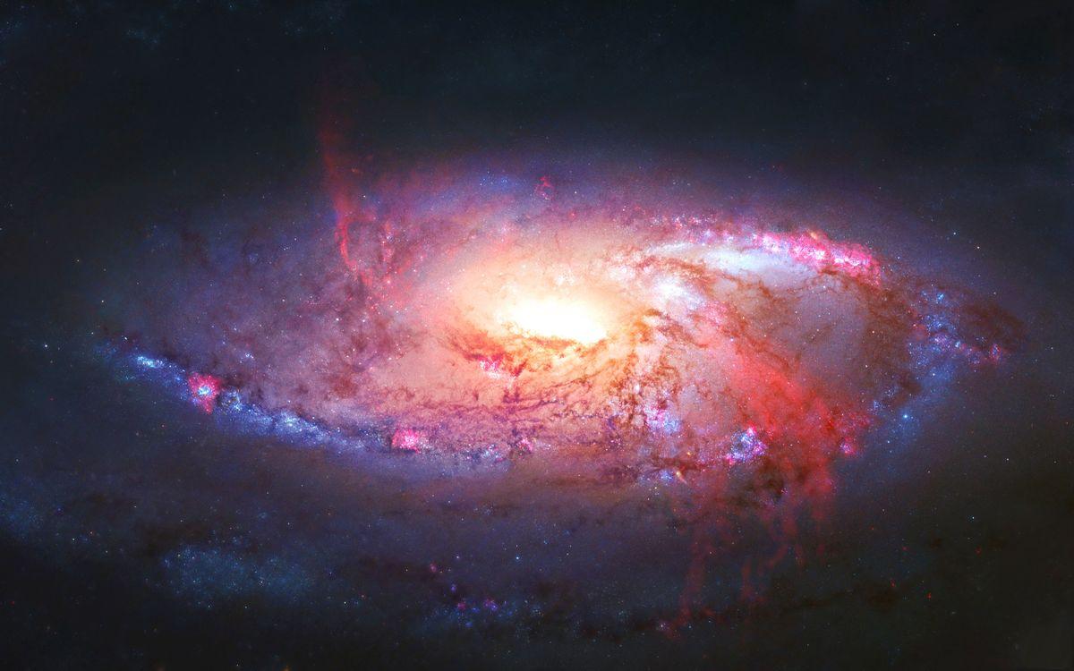 Фото бесплатно звезды, галактики, черные дыры - на рабочий стол