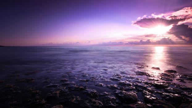 Фото бесплатно отмель, камни, море
