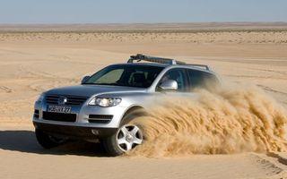 Заставки фольксваген,внедорожник,пустыня,песок,дюны,скорость
