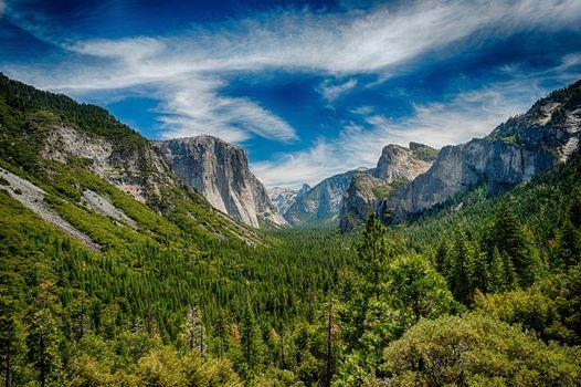 Фото бесплатно Национальный Парк Йосемити, Калифорния, США