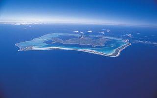 Фото бесплатно остров, вулкан, океан