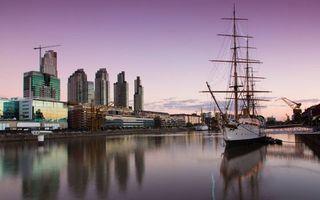 Бесплатные фото судно,парусник,порт,город