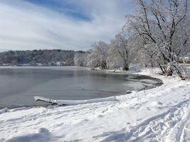 Бесплатные фото зима,озеро,снег,деревья,пейзаж