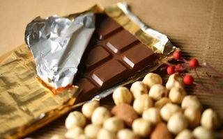 Фото бесплатно шоколад, плитка, фольга