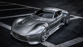 Photo free Mercedes, concept, silver