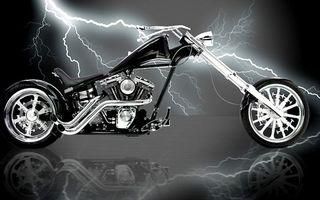 Бесплатные фото чоппер,вилка,двигатель,выхлоп,молния,разряд