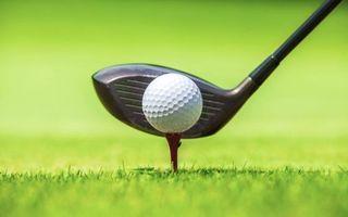 Бесплатные фото гольф, клюшка, мяч, подставка, поле, газон