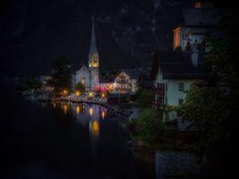 Фото бесплатно Hallstatt, Austria, Lake Hallstatt
