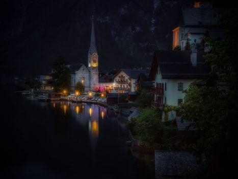Photo free Hallstatt, Austria, Lake Hallstatt