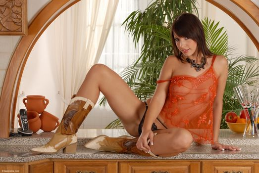Photo free model, Monika Vesela, girl