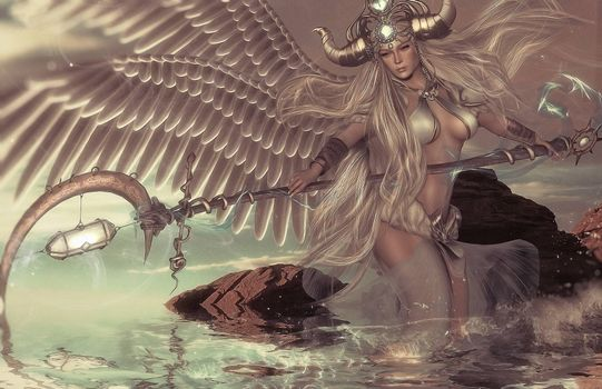 Photo free angel, fantasy, fantastic girl