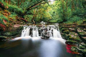 Фото бесплатно Национальный парк Брекон маяки, Южный Уэльс, река