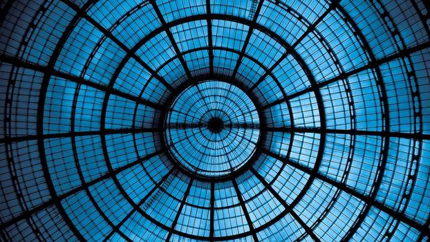 Фото бесплатно стеклянный купол, вид, изнутри