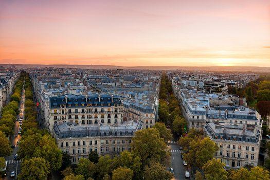 Осень в Париже · бесплатное фото