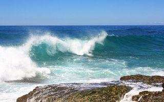 Бесплатные фото берег, океан, волна, брызги, скала