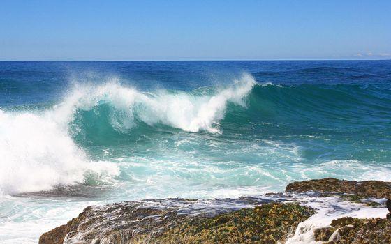 Фото бесплатно берег, океан, волна