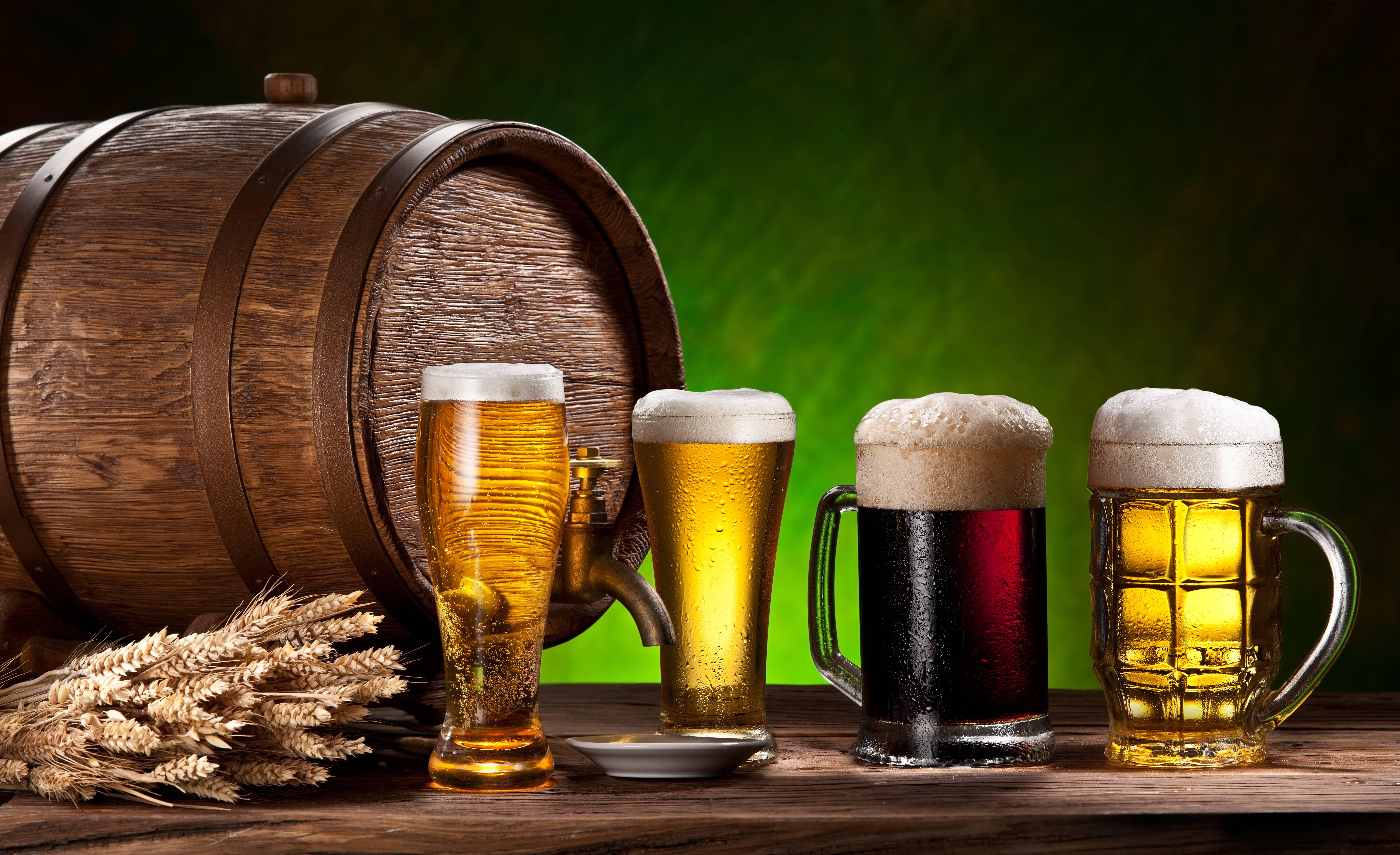 Drinks Beer Barrel, пиво, напиток