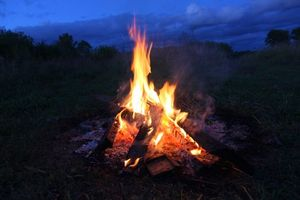 Фото бесплатно костер, пламя