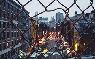 Фото бесплатно ограждение, забор, железная сетка