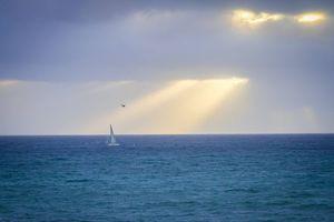 Бесплатные фото закат, море, пейзаж