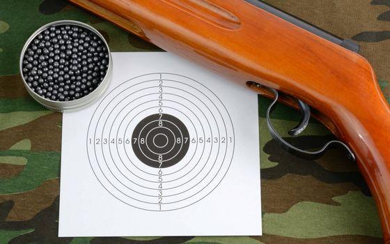 Photo free air, trigger, target