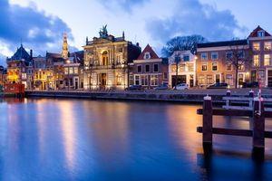 Фото бесплатно Нидерланды, ночь, освещение