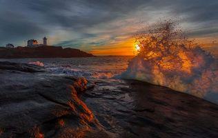 Photo free Lighthouse Portland Head, Maine, Portland Head