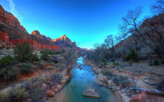 Фото бесплатно камни, скалы, ручей