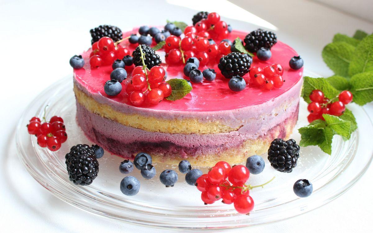 Фото бесплатно десерт, торт, крем - на рабочий стол