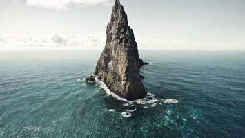 Фото бесплатно море, скала, утес