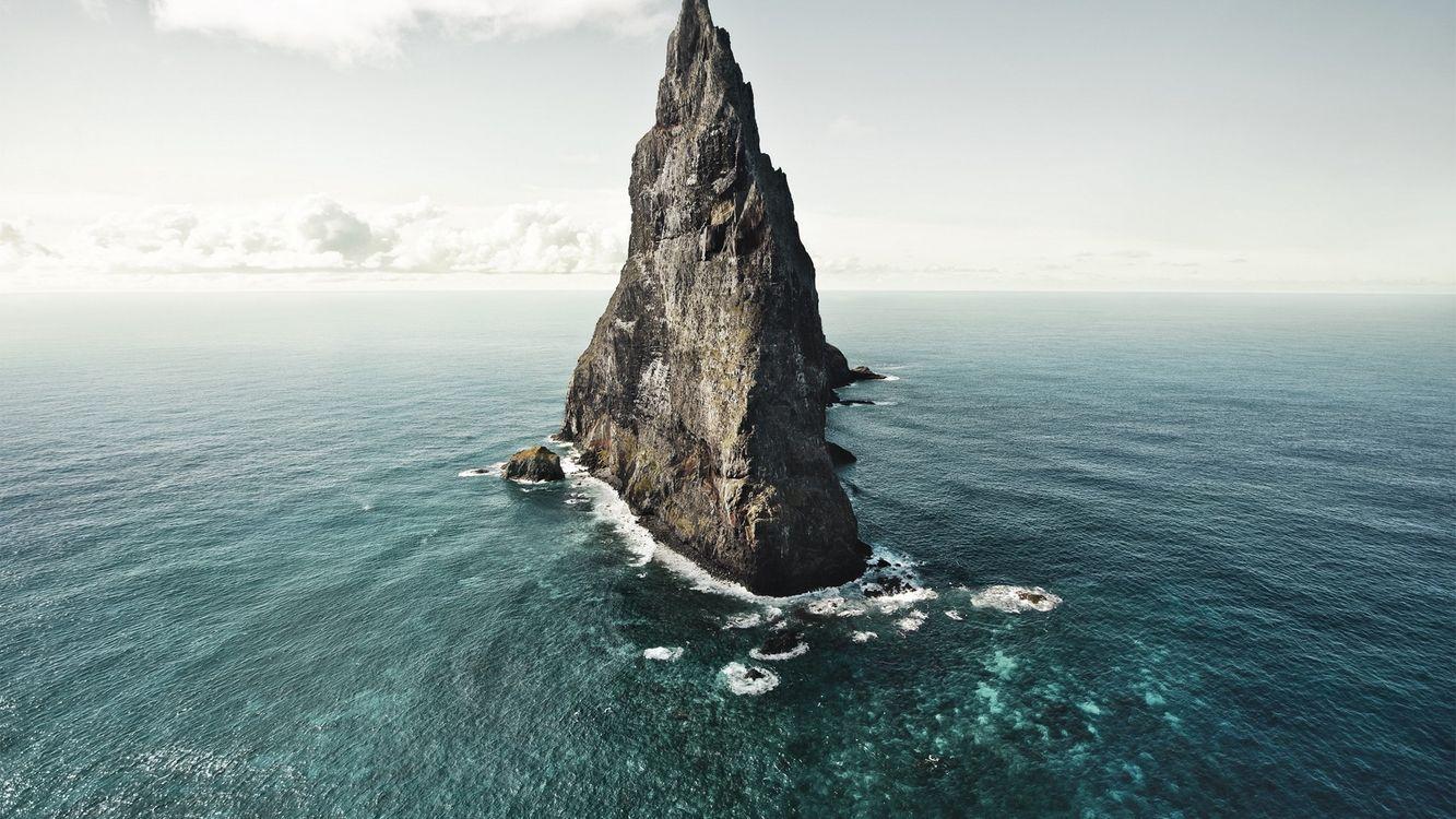 Фото бесплатно море, скала, утес - на рабочий стол