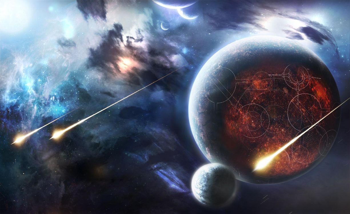Фото бесплатно вселенная, созвездия, галактика - на рабочий стол